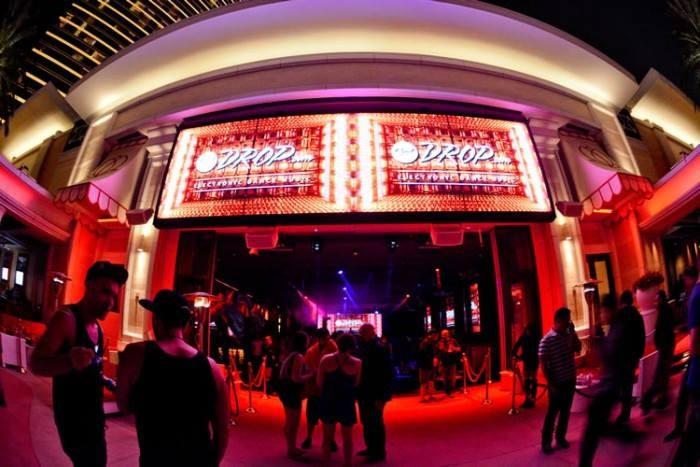 thatDROP.com event with Flosstradamus at Encore Beach Club in Las Vegas, Nevada