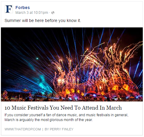 thatDROP on Forbes Facebook Page