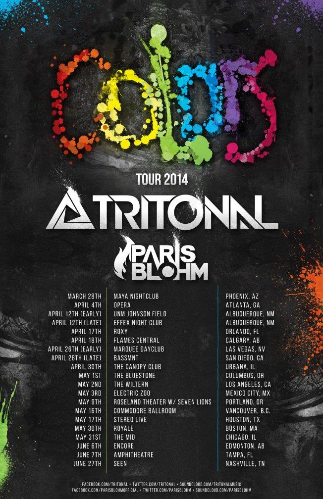 Colors Tour
