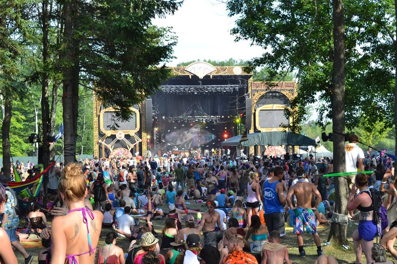 Ranch Stage at Electric Forest