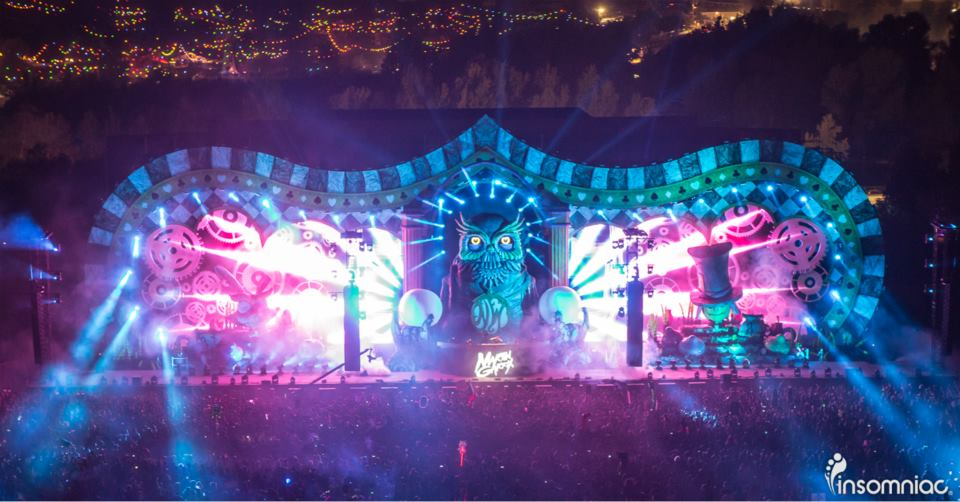 Main Stage at Nocturnal via Insomniac