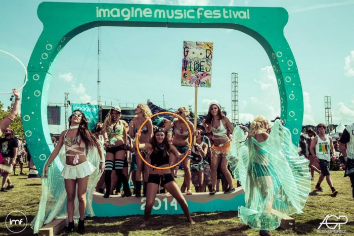 imagine music festival review