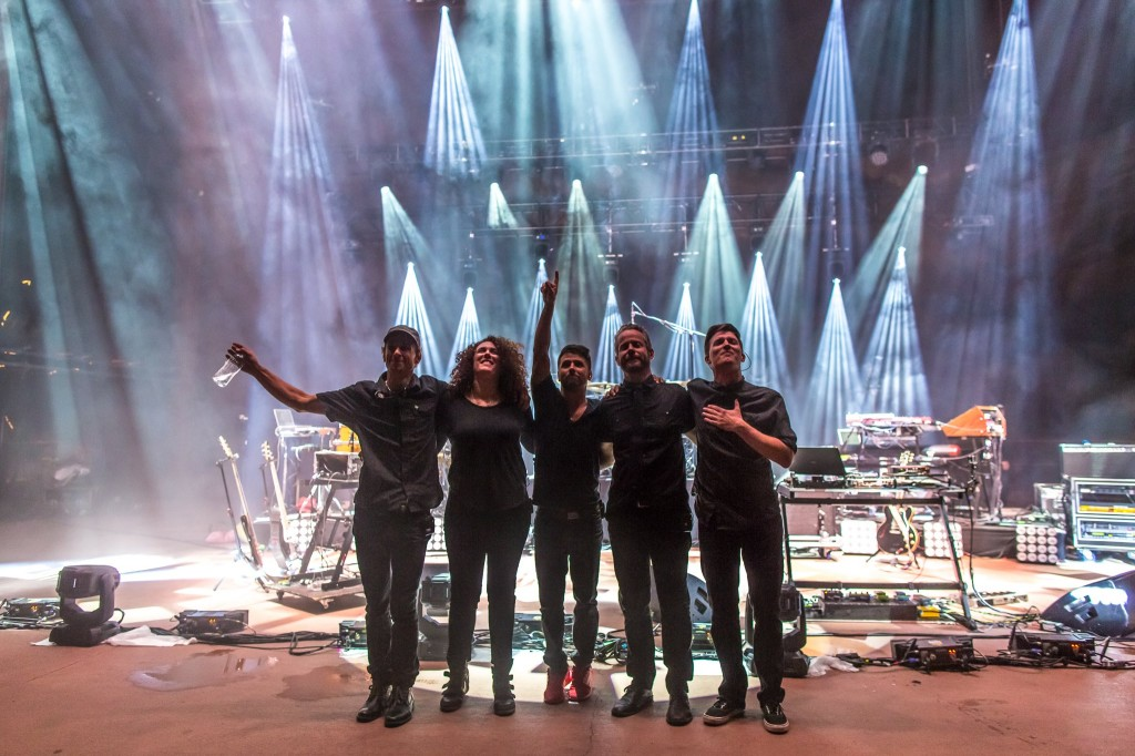 STS9 at Red Rocks 2014 Night One