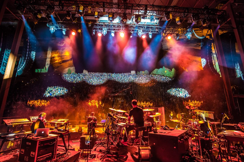 STS9 at Red Rocks 2014
