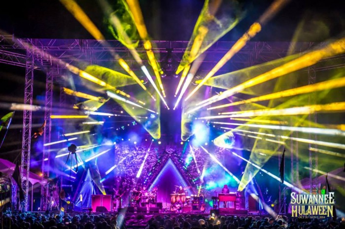 The String Cheese Incident at Suwannee Hulaween