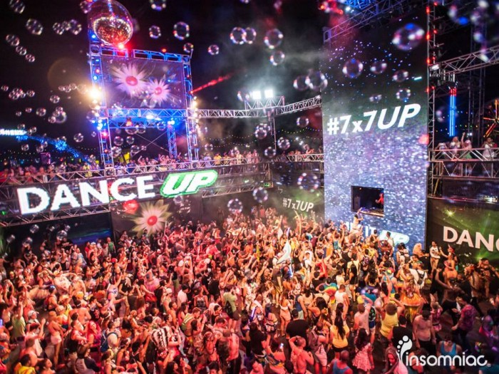 7up stage electric daisy carnival