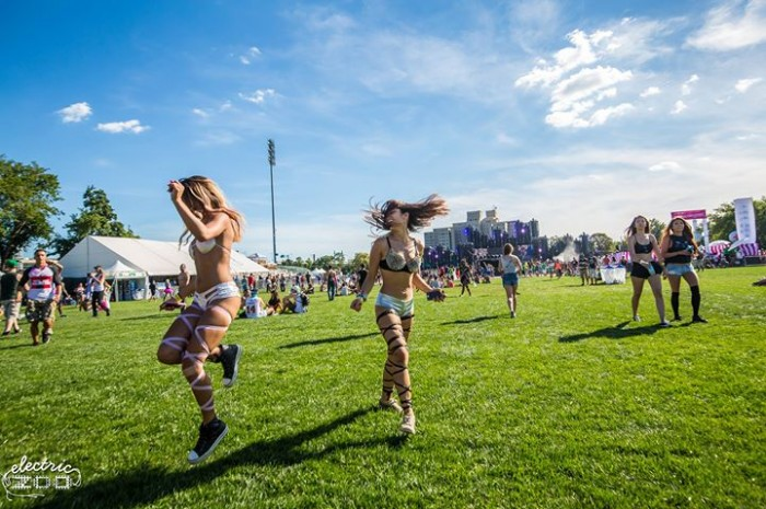 edm festival photos