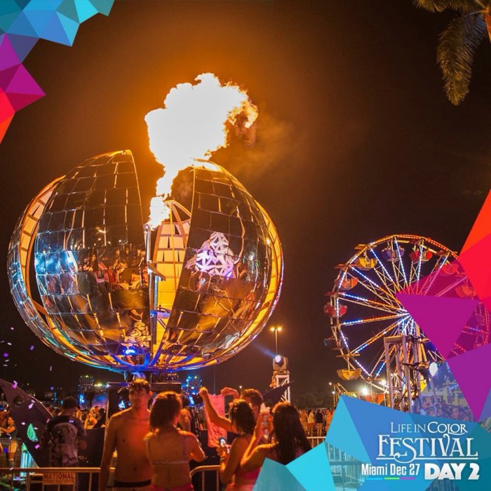life in color miami event review