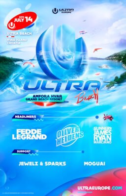 Ultra Music Festival Europe Announces Stacked Lineup for Ultra Beach Party 2015