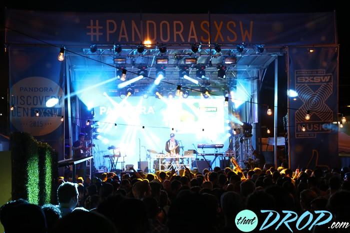 Pandora Discovery Den at SXSW