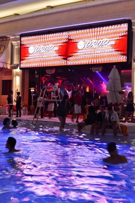 Flosstradamus Encore Beach Club at Night