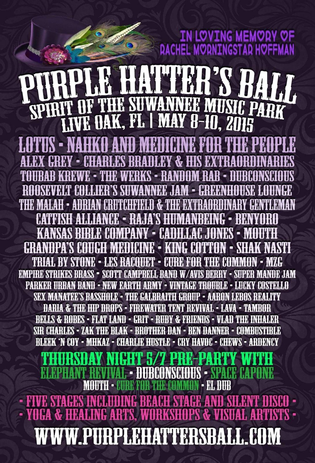 More than a Music Festival: A Purple Hatter's Ball 2015 Recap