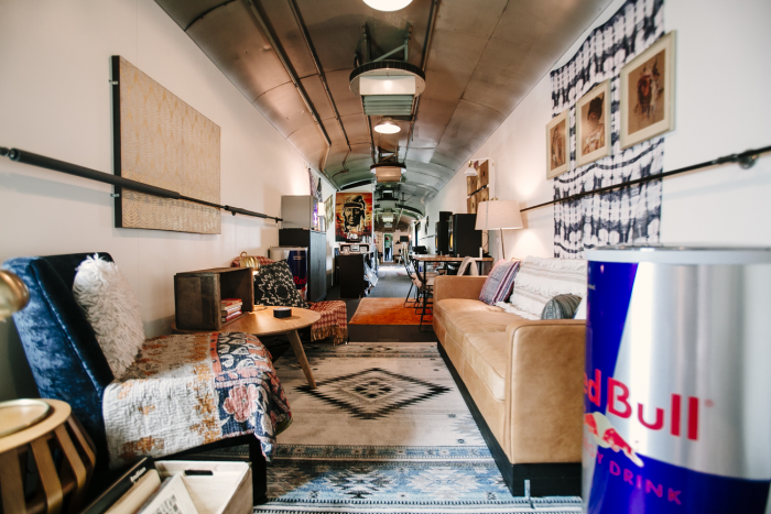 Red Bull Transforms Train Car into Touring Studio for Jack Ü, Zeds Dead, Tycho and More