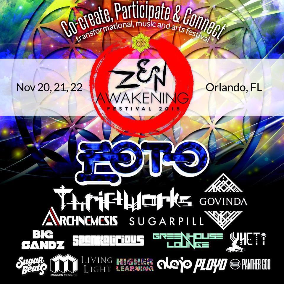 Zen Awakening Festival Florida Edm Festivals