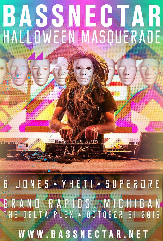 Bassnectar Halloween Masquerade
