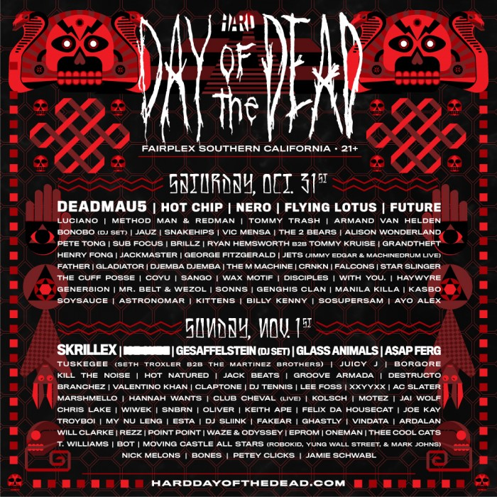 HARD Day of the Dead 2015.