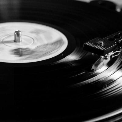 Electron Microscope Vinyl