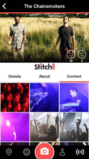 Stitch Live The Chainsmokers