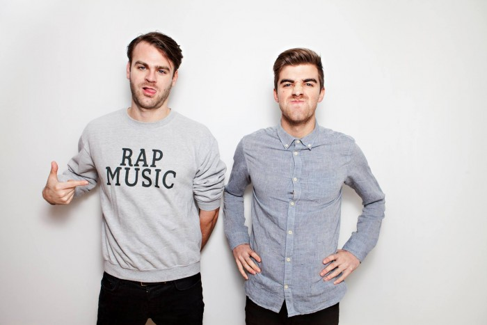 Alex Pall (left) and Andrew Taggart (right) of The Chainsmokers.