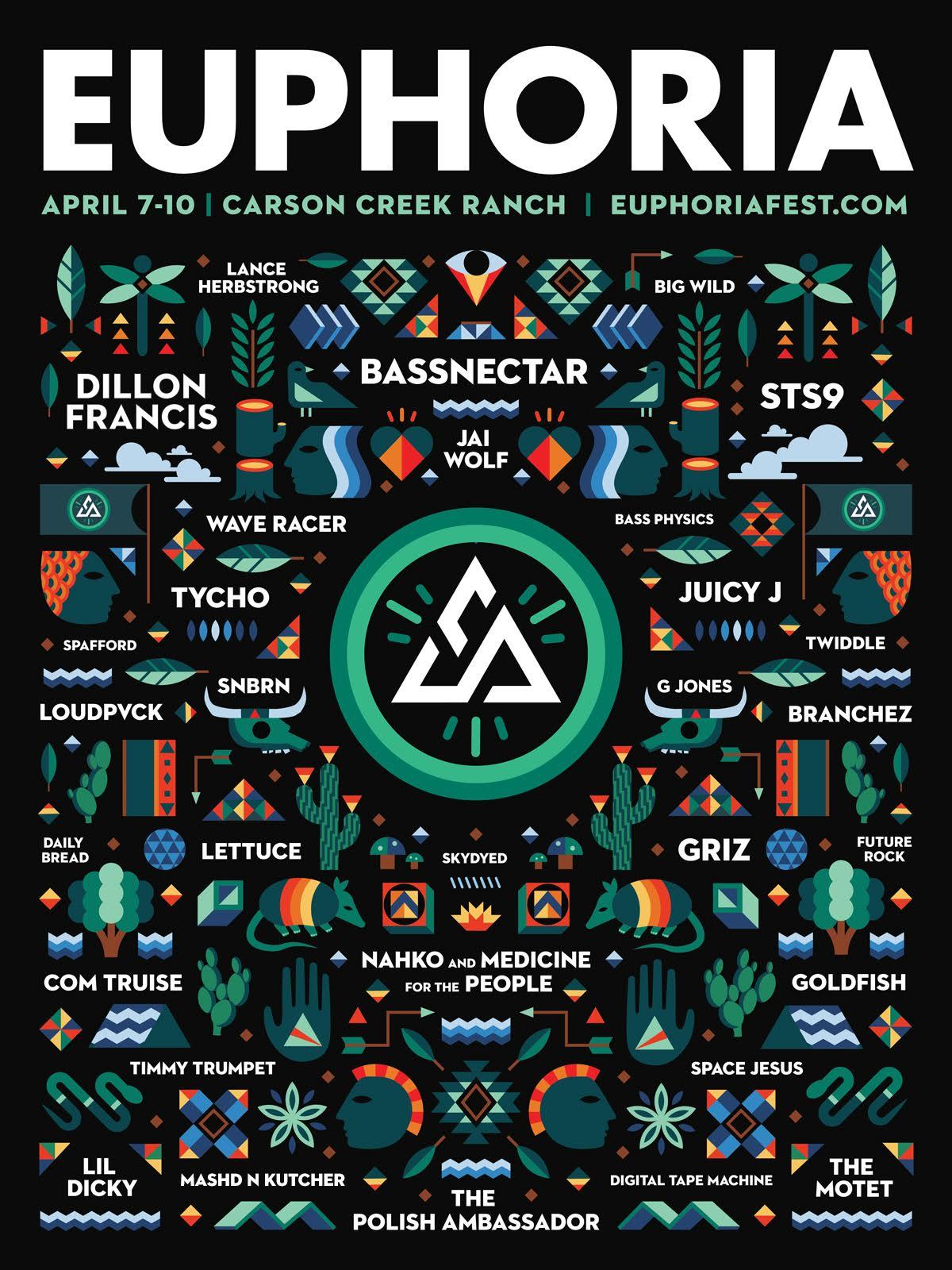 Euphoria Festival 2016 Lineup