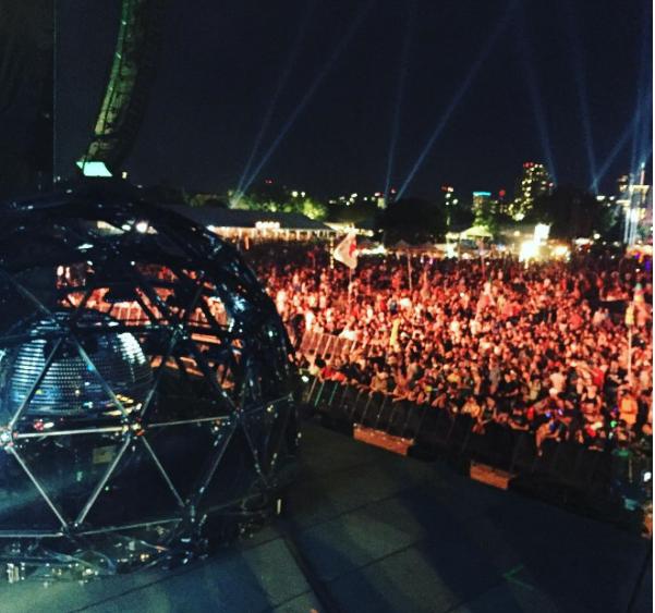 Deadmau5' cage - Instagram Post
