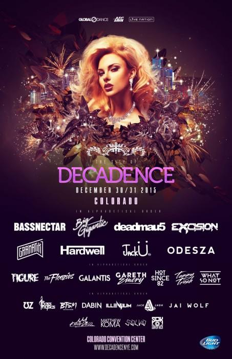 Decadence Colorado NYE Lineup 2015
