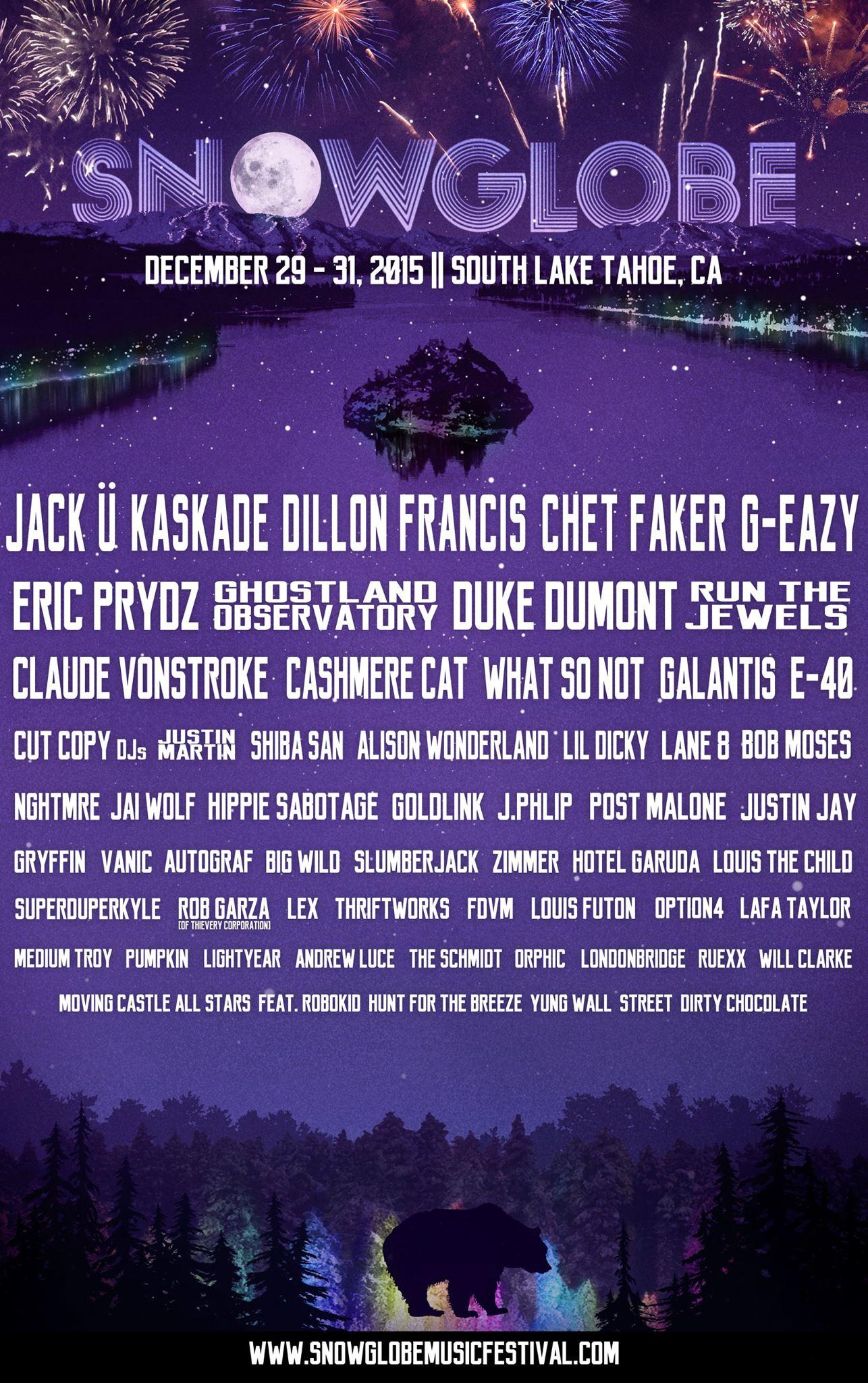 Winter EDM Festivals