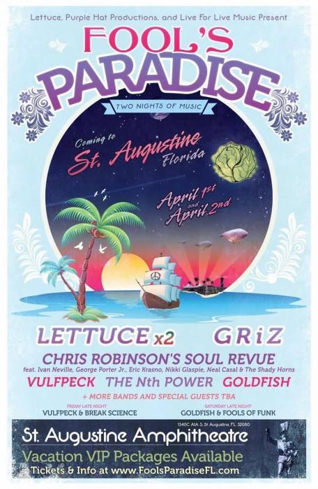Fool's Paradise Lineup