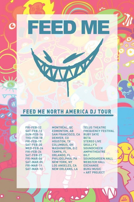 Feed Me North America Tour
