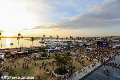 CRSSD Festival held at the Waterfront Park in San Diego, CA