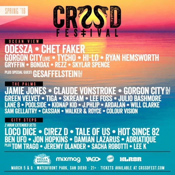 CRSSD Spring 2016 Lineup