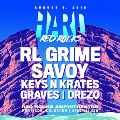 HARD Red Rocks 2016