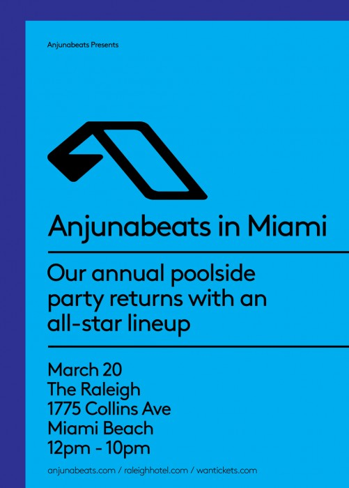 Anjunabeats Showcase - Miami Music Week