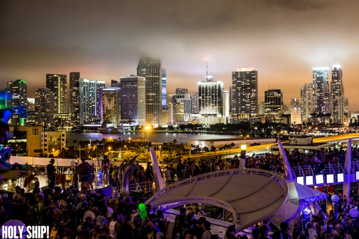 HOLY SHIP! sets sail from Miami on February 10. Photo via Facebook/HOLY SHIP!