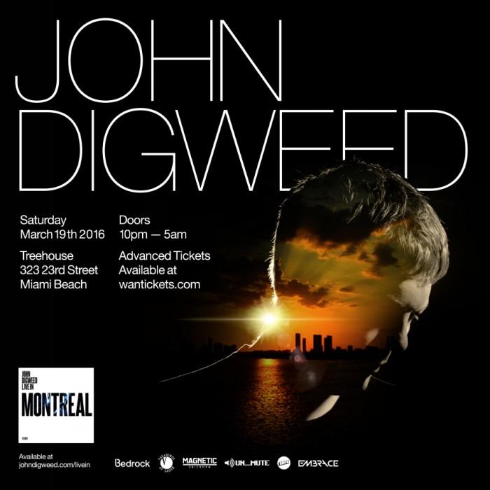 John Digweed at Treehouse - Miami Music Week