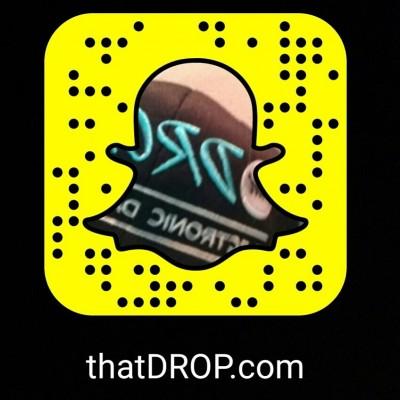 thatdrop edm snapchat
