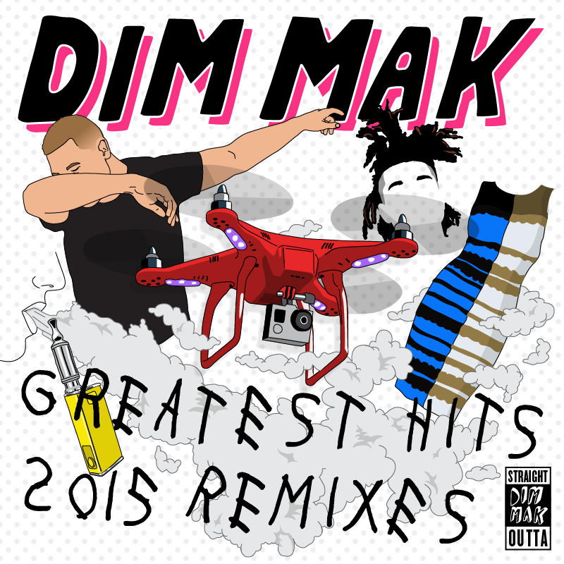 Dim Mak Records album cover