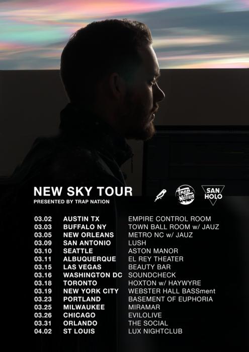 New Sky Tour by San Holo