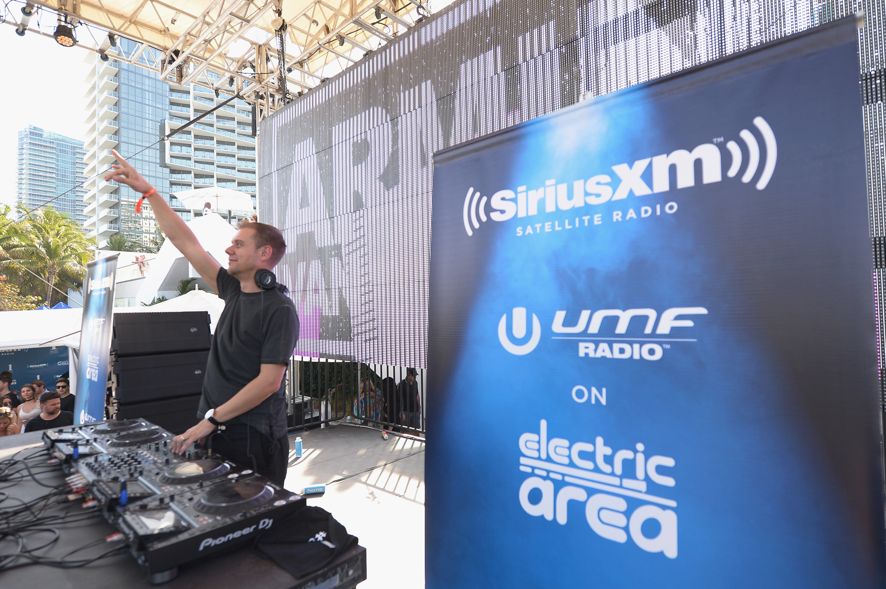 """""""MIAMI, FLORIDA - MARCH 17: Armin van Buuren performs at The SiriusXM Music Lounge At 1 Hotel South Beach Leading Up To Ultra Music Festival-Day 2 on March 17, 2016 in Miami, Florida. (Photo by Gustavo Caballero/Getty Images for SiriusXM)"""""""
