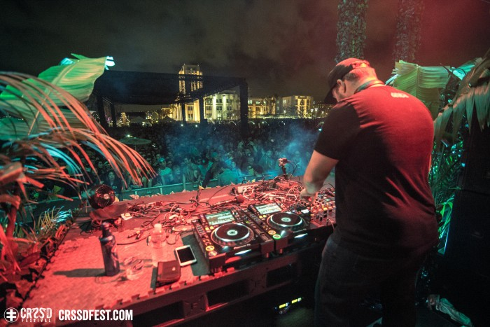 Claude VonStroke closing out CRSSD at The Palms; Photo by Gabe Tiano