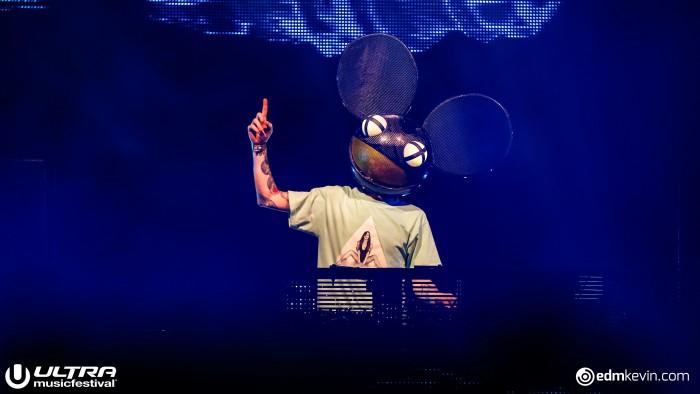 Deadmau5 at Ultra Music Festival/Photo by Kevin Verkruijssen