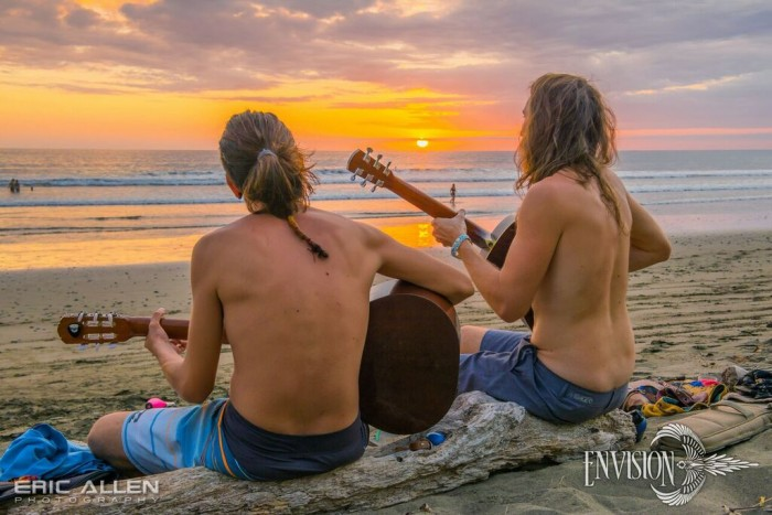 There are few things as mesmerizing as a Costa Rican sunset. Photo by Eric Allen via Envision Festival.