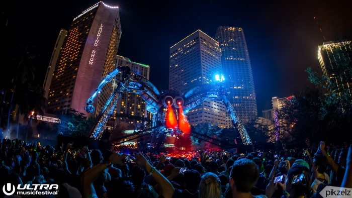 Ultra Music Festival Resistance Stage / Photo by Pikzelz