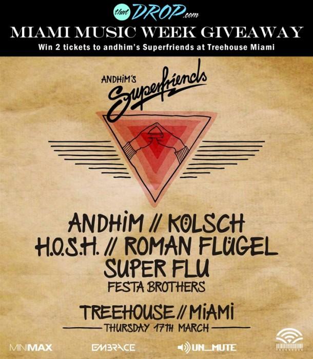 andhim Miami Music Week giveaway