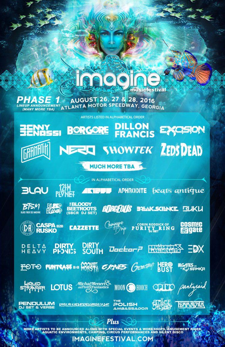 Imagine Music Festival 2016 Venue