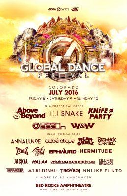 Global Dance Festival Red Rocks