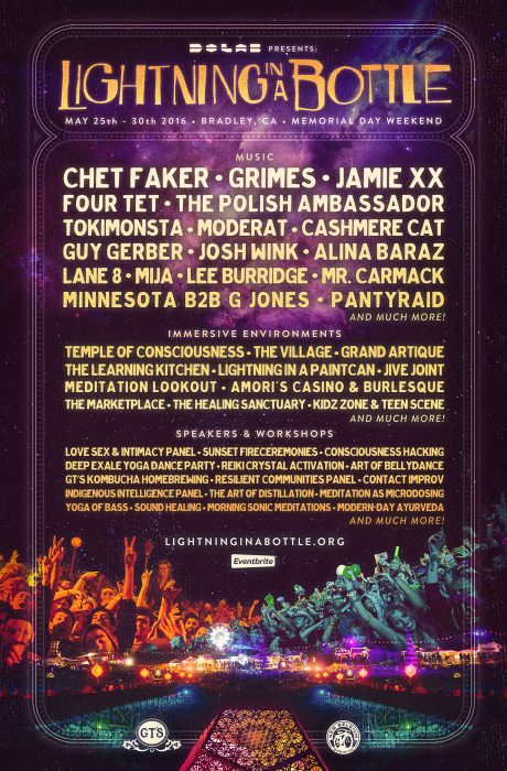 Lightning In a Bottle 2016 Lineup