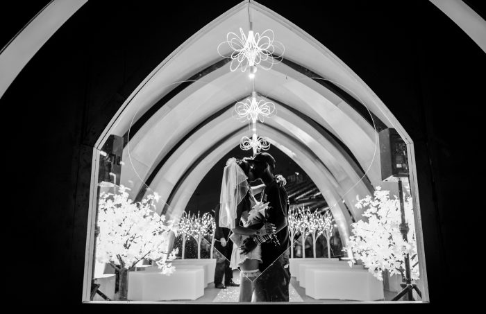 EDC Wedding Chapel via Adi Adinayev for Insomniac