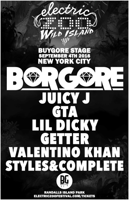 Buygore Stage @ Electric Zoo: Wild Island