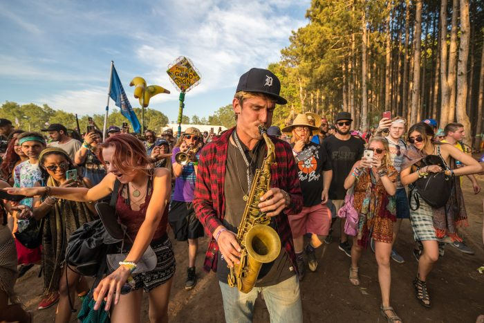 GrizTook to the Forest and Started a Roaming Concert